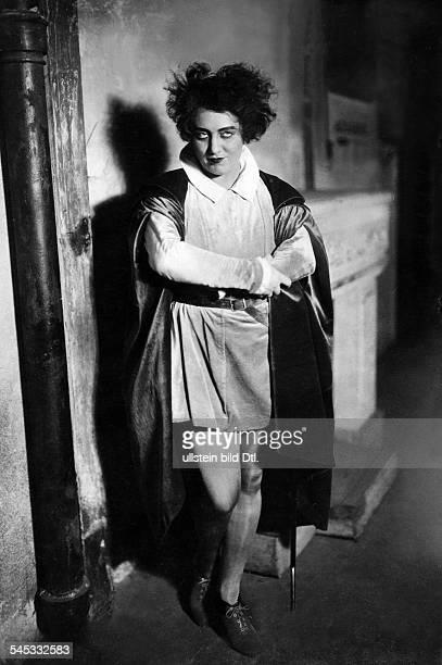 Dorsch Kaethe Actress Germany *29121890 in the operetta 'Bocaccio' by Franz von Suppe Photographer Zander Labisch Vintage property of ullstein bild