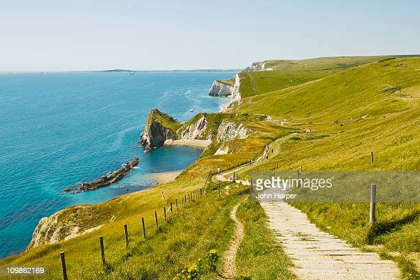 dorset coastline, dorset - coastline stock pictures, royalty-free photos & images