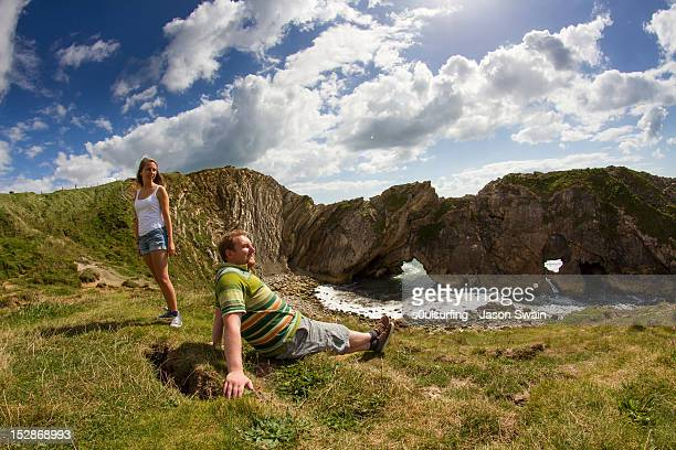 dorset holiday snaps - s0ulsurfing stock pictures, royalty-free photos & images