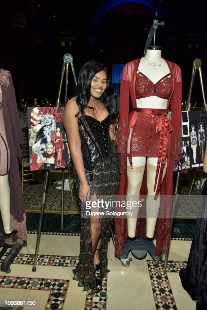 Dorshelle Guillaume attends the 2019 Underfashion Club Femmy Awards at Cipriani 42nd Street on February 4 2019 in New York City