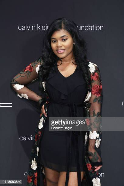 Dorshelle Guillaume attends the FIT Future of Fashion Runway Show on May 09 2019 in New York City
