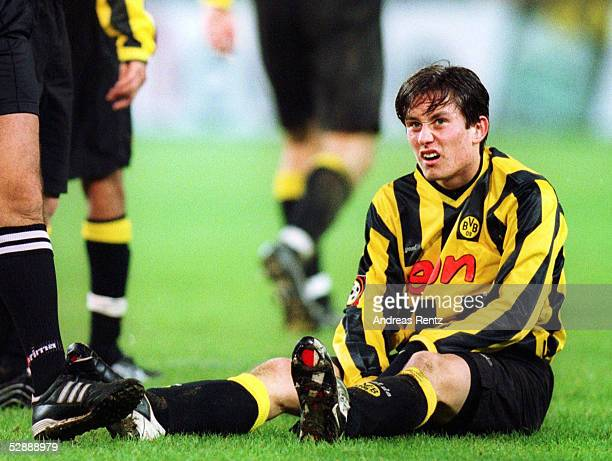 1 BUNDESLIGA 01/02 Dortmund BORUSSIA DORTMUND 1 FC KAISERSLAUTERN 30 Tomas ROSICKY/DORTMUND