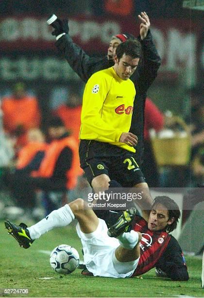 Dortmund BORUSSIA DORTMUND AC MAILAND Christoph METZELDER/Dortmund Filippo INZAGHI/Mailand