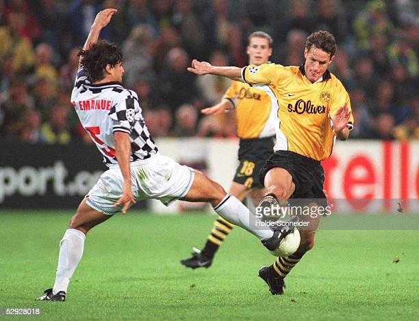 LEAGUE 99/00 Dortmund BORUSSIA DORTMUND FC BOAVISTA 31 PEDRO EMANUEL Silva/ BOAVISTA Heiko HERRLICH/DORTMUND