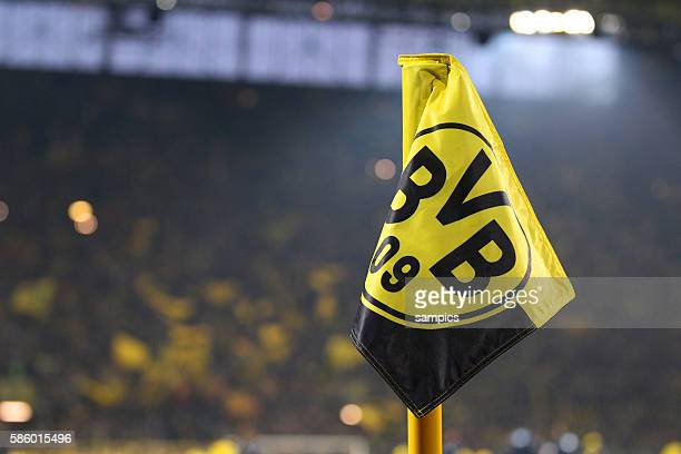 Dortmund eckfahne Fussball DFB Pokal Viertelfinale BVB Borussia Dortmund TSG 1899 Hoffenheim