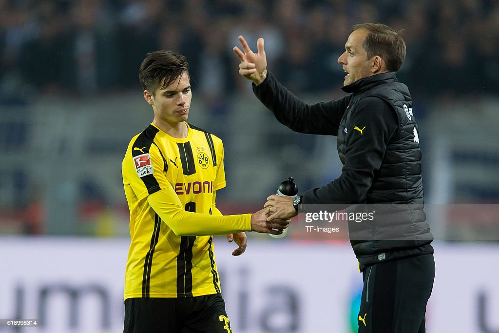 1.BL: BV Borussia Dortmund - Hertha BSC Berlin : News Photo