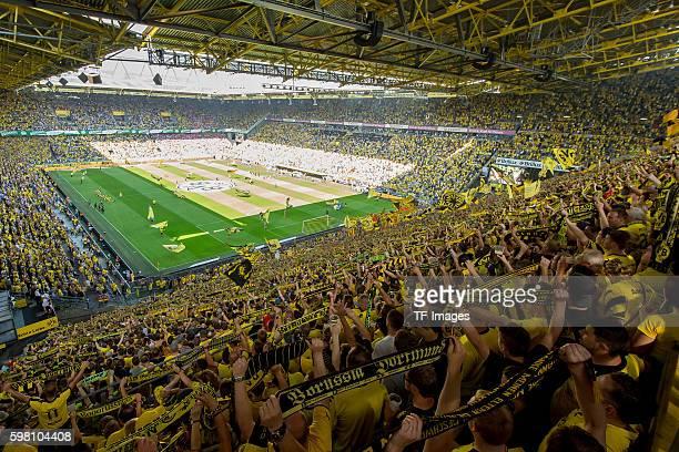 Dortmund Germany 1Bundesliga 1 Spieltag BV Borussia Dortmund 1 FSV Mainz 05 21 Stadion uebersicht von der Suedtribuene