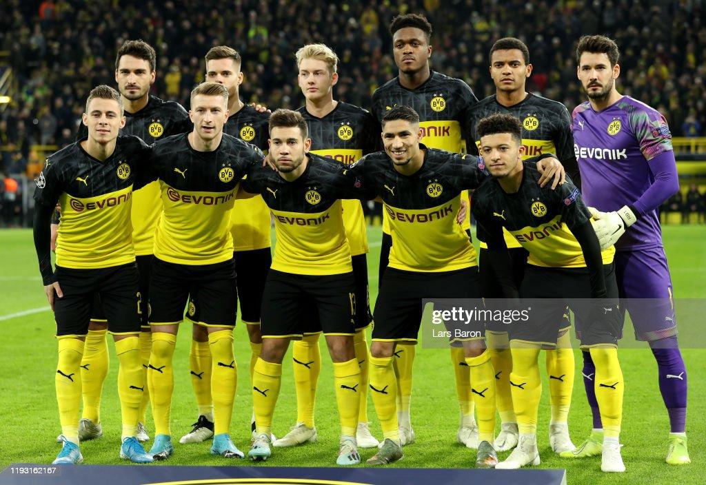 Borussia Dortmund v Slavia Praha: Group F - UEFA Champions League : Foto di attualità