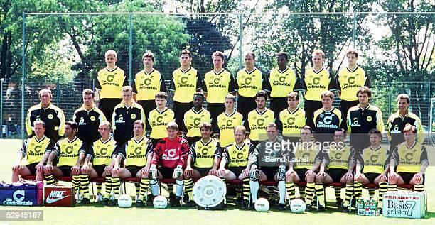 1 BUNDESLIGA 95/96 Dortmund TEAM BORUSSIA DORTMUND