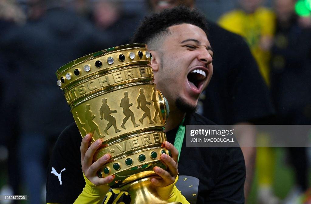 FBL-GER-CUP-LEIPZIG-DORTMUND : News Photo