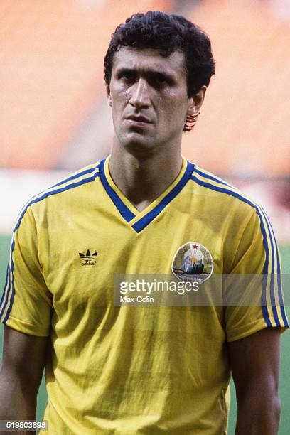 Doru Rodion Camataru during the Football European Championship between Romania and West Germany at Stade Felix Bollaert Lens France on 17 June 1984