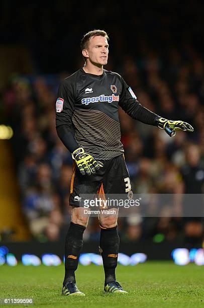 Dorus De Vries Wolverhampton Wanderers goalkeeper