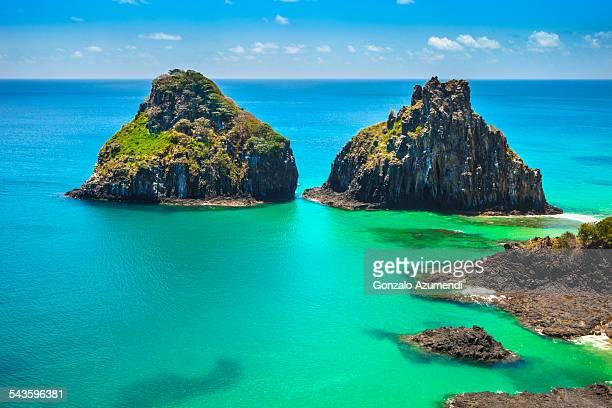 Dos Irmaos Islands in Fernando de Noronha