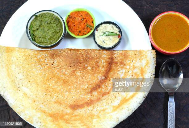 dosa indian food - dosa stock photos and pictures