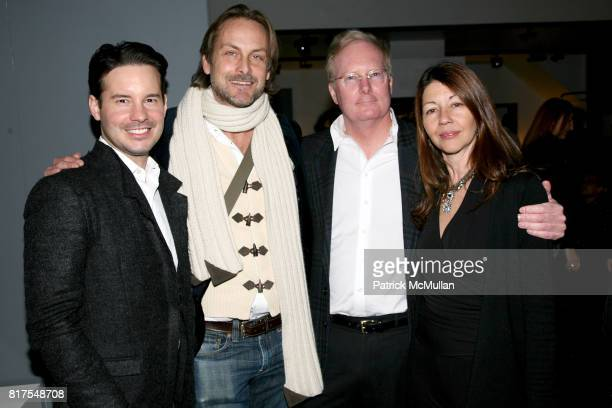 Doss Alexander Andrew Brunger Gil Donaldson and Sally Randall Brunger attend 8th Annual BoCONCEPT/KOLDESIGN Holiday Party at Bo Concept Madison Ave...