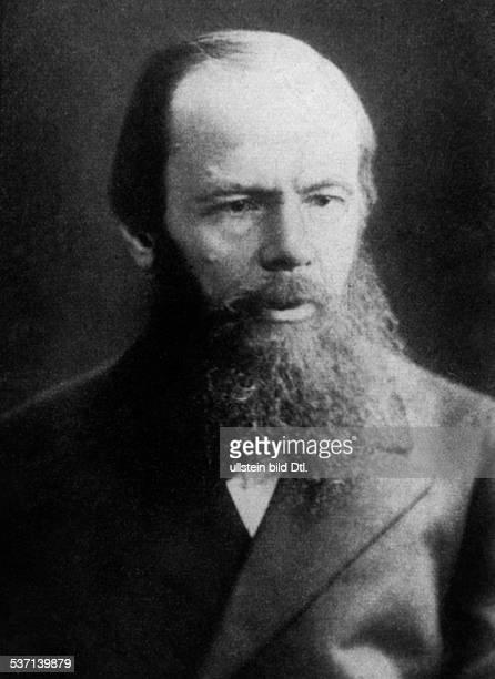 Dostojewski Fjodor Schriftsteller Russland