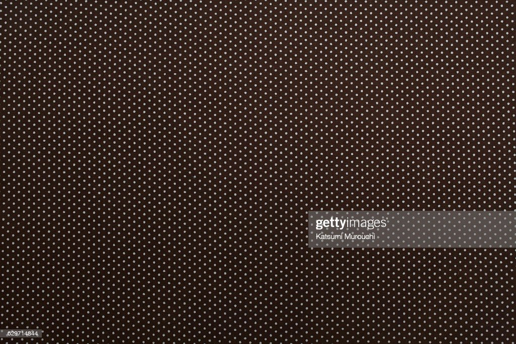 Dot pattern cloth texture background : Stock Photo