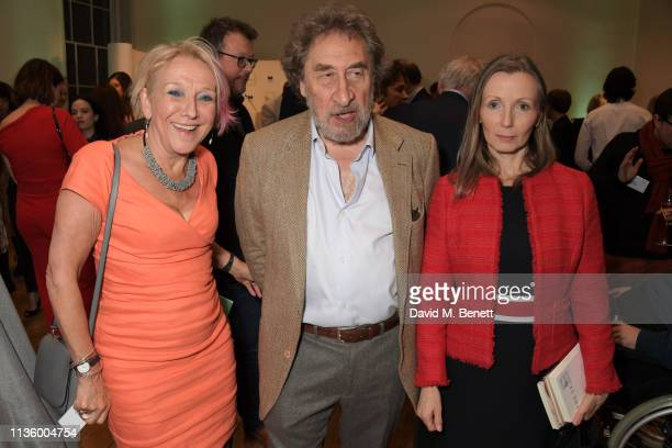 Dotti Irving Howard Jacobson and Anna Burns attend the press night after party for Nigel Slater's The 2019 Man Booker International Prize shortlist...
