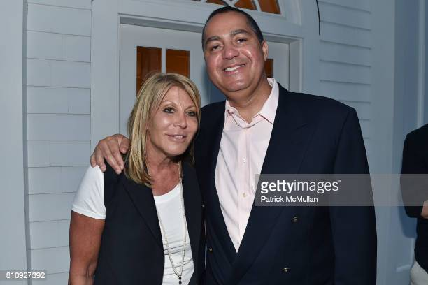Dottie Herman and Don Peebles attend Katrina and Don Peebles Host NY Mission Society Summer Cocktails at Private Residence on July 7 2017 in...