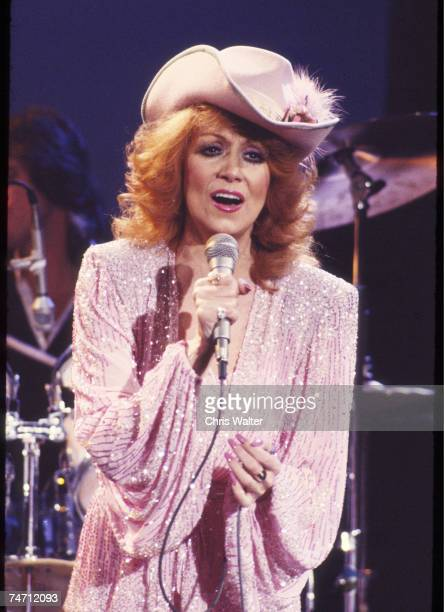 Dottie West 1981 on Midnight Special at the Music File Photos 1980's in Burbank CA