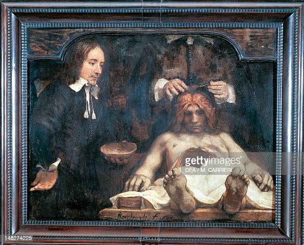 Rembrandt Anatomy Lesson Stock Photos And Pictures Getty Images