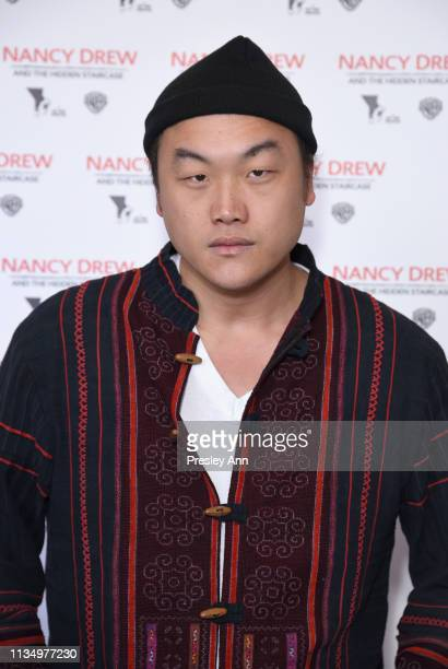 Doua Moua attends the red carpet premiere of 'Nancy Drew and the Hidden Staircase' at AMC Century City 15 on March 10 2019 in Century City California...