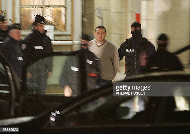 Lionel Dumont a 34 yearold convert to Islam who fought with Muslim insurgents in Bosnia leaves Douai's court house northern France 05 December 2005...