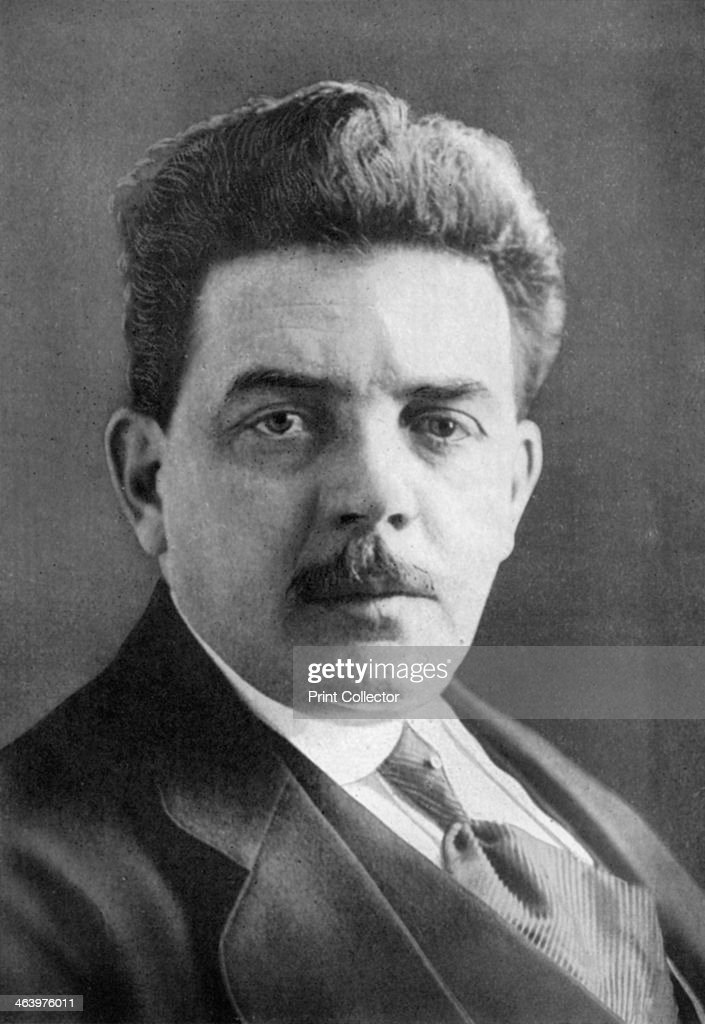 Édouard Herriot (1872-1957), French politician, 1926. : News Photo