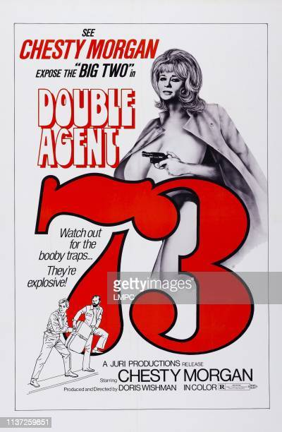 Double Agent 73 poster US poster art Chesty Morgan 1974
