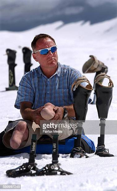 Double amputee climber Mark Inglis from Hanmer Springs 16 December 2002 DMP Picture by CRAIG SIMCOX