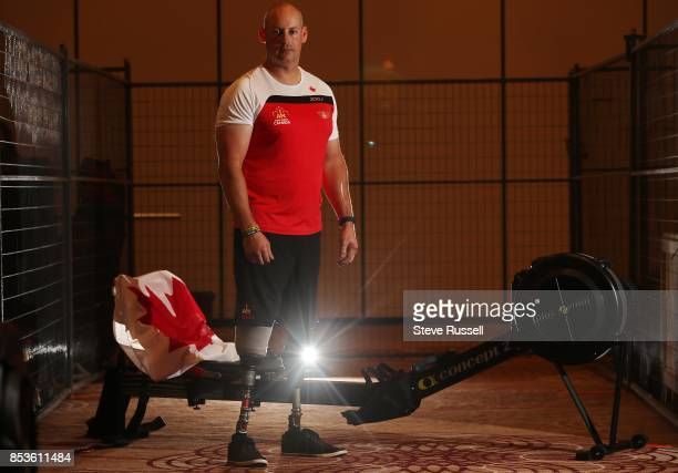 Double amputee Mike Trauner injured by a rocketpropelled grenade will compete in indoor rowing for Canada at the Invictus Games in Toronto