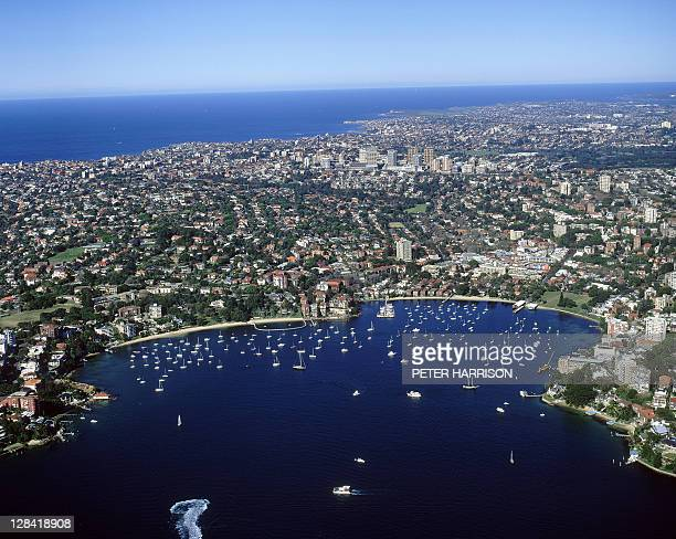double bay, nsw (aerial) - double stock photos and pictures