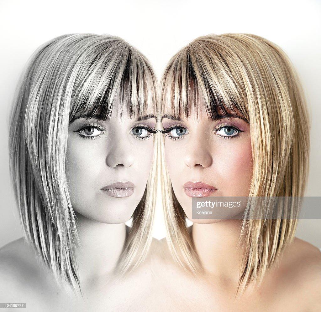 Double beauty : Stock Photo