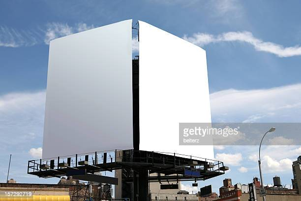 double billboard - two objects stock photos and pictures