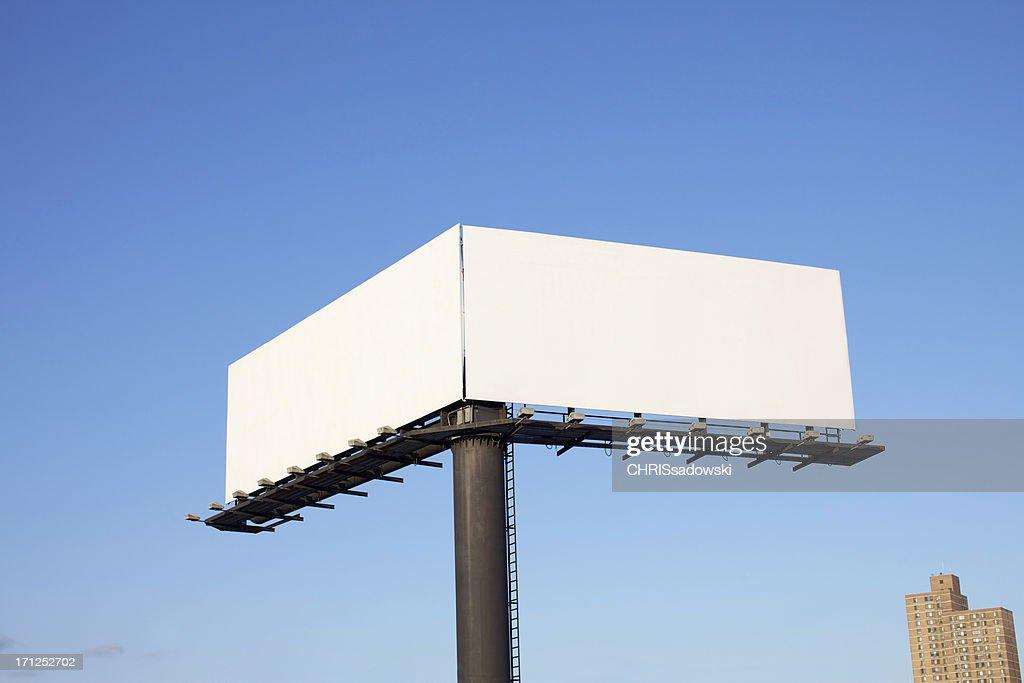 Double Billboard : Stock Photo