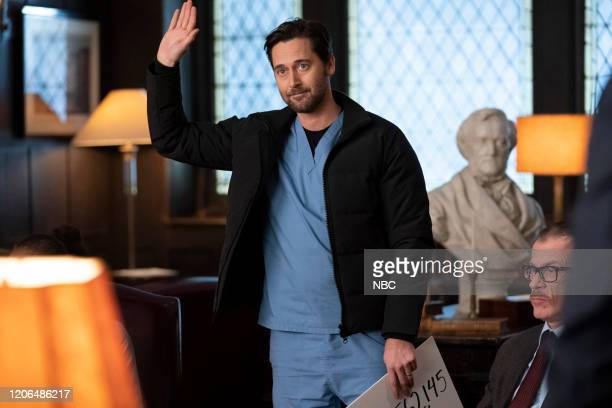 NEW AMSTERDAM Double Blind Episode 215 Pictured Ryan Eggold as Dr Max Goodwin