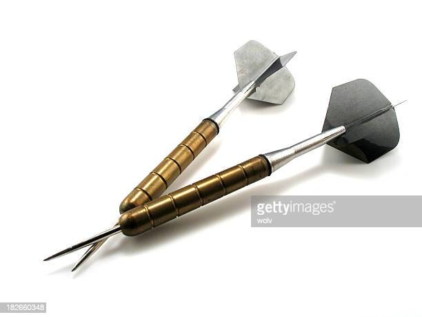 double darts - darts stock pictures, royalty-free photos & images
