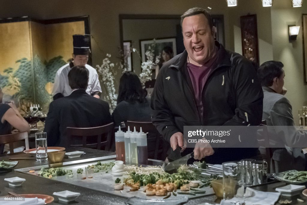 'Double Date' -- After Goody and Didi (Saidah Arrika Ekulona) invite the Motts on a weekend getaway, Kevin and Donna are offended by the friendship demotion and go online to search for new couples to hang out with, on KEVIN CAN WAIT, Monday, March xx (8:00-8:30 PM, ET/PT) on the CBS Television Network. Jackie Sandler returns as Mott's wife, Cindy. Pictured: Kevin James.
