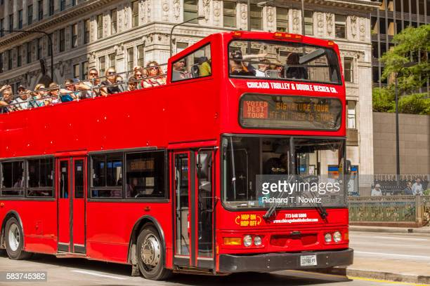 Double deck tour Bus