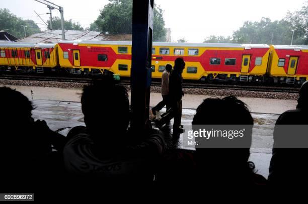 AC double decker train flagged off by Delhi CM Sheila Dikshit and Railway Minister Mukul Roy in DelhiThe train which will run between Delhi's Sarai...