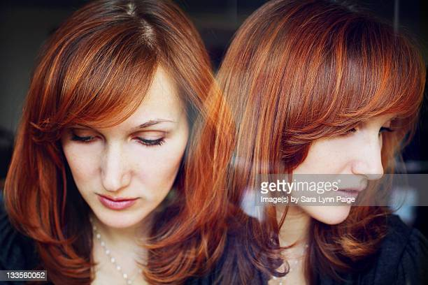 double exposure - ginger lynn stock pictures, royalty-free photos & images