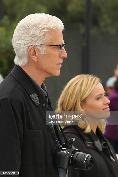 Double Fault DB Russell and Julie Finlay listen carefully as they piece together clues on the tennis court on CSI CRIME SCENE INVESTIGATION Wednesday...