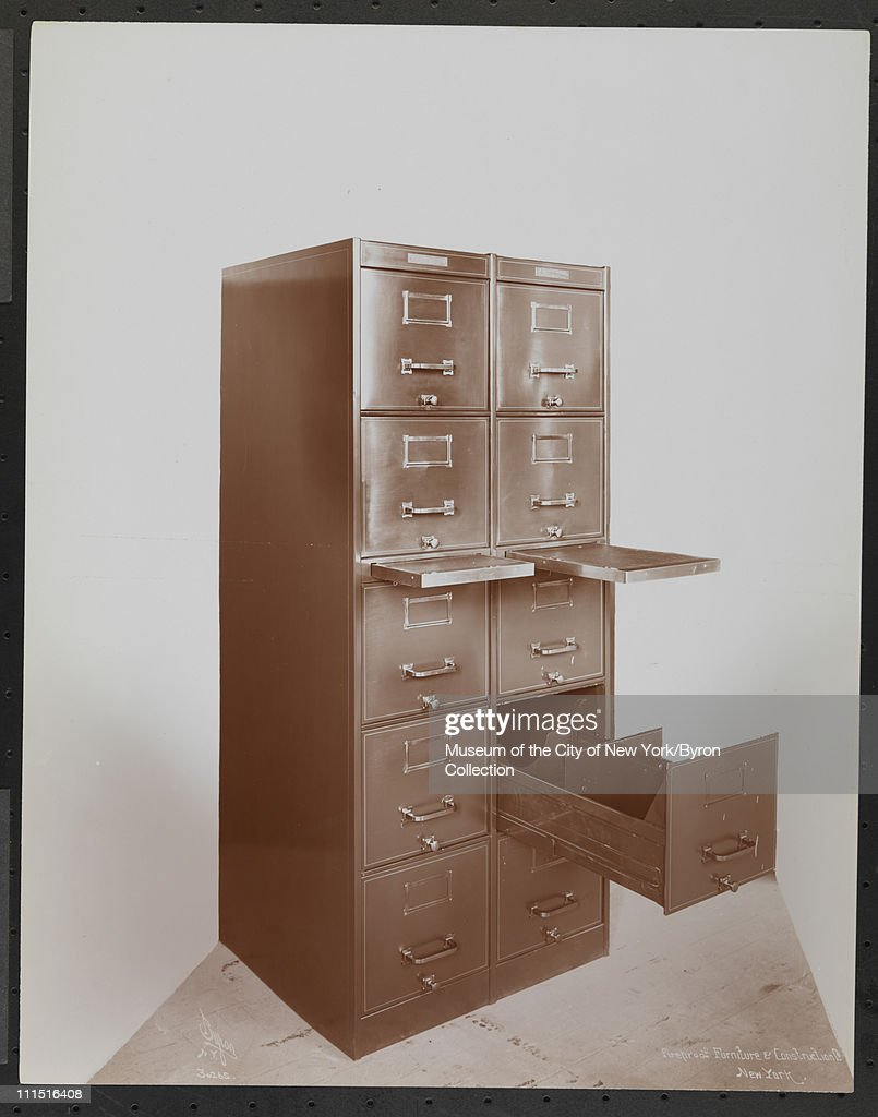Double Five Drawer File Cabinet By The Fireproof Furniture