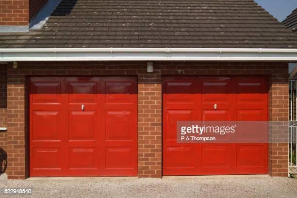 Double Garage of House