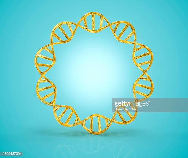 double helix ring of dna - atomic imagery stock pictures, royalty-free photos & images