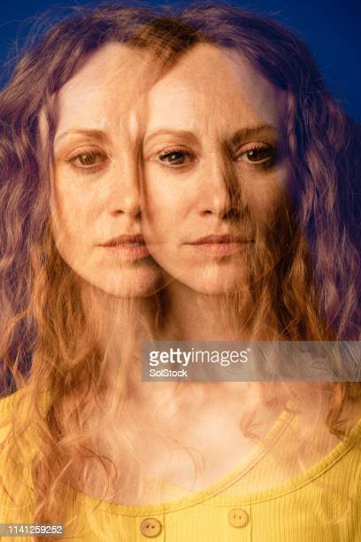 double identity - digital composite stock pictures, royalty-free photos & images