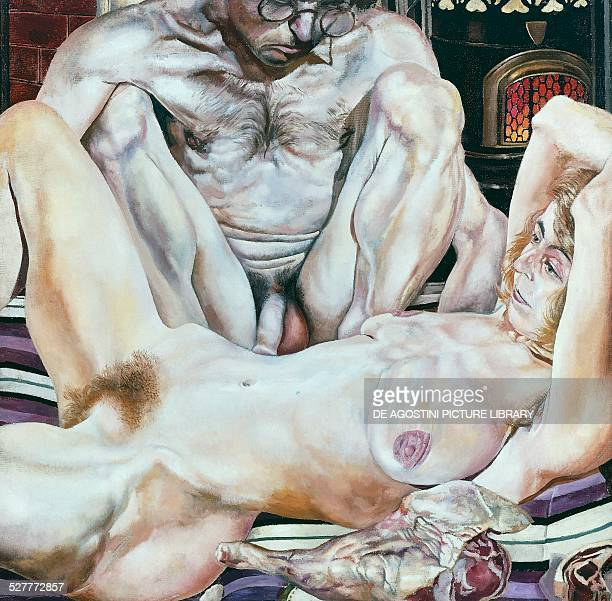 Double Nude Portrait by Stanley Spencer United Kingdom 20th century London Tate Gallery