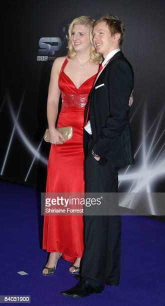 Double Olympic gold medlal winner Rebecca Adlington and guest attend the BBC Sports Personality Of The Year at Echo Arena on December 14 2008 in...