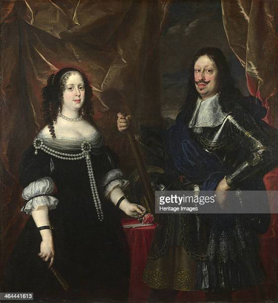 Double Portrait of the Grand Duke Ferdinand II of Tuscany and his Wife Vittoria della Rovere 1660s Found in the collection of the National Gallery...
