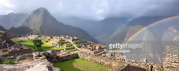 Double Rainbow at Machu Picchu XXXL
